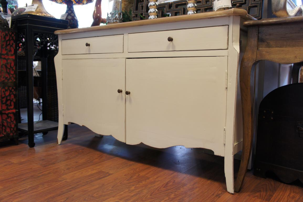 landhaus sideboard shabby kommode wei shabby chic anrichte pretty home hamburg ebay. Black Bedroom Furniture Sets. Home Design Ideas